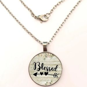 Silver Blessed Necklace (C22)